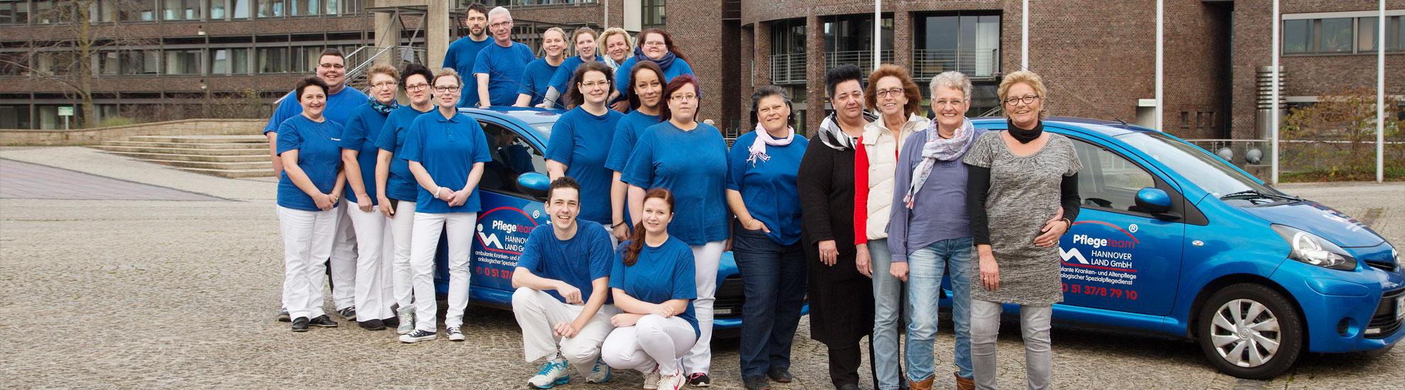 Pflegeteam Hannover Land GmbH > Ambulante Kranken- und Altenpflege · Palliativpflege · Schmerztherapie · onkologischer Spezialpflegedienst · Häusliche Versorgung